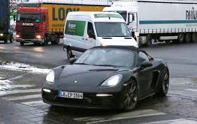 New 2018 Porsche 718 Boxster Spyder Spy Pictures News Specs Prices ...