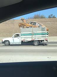 I Don't Need A Tow Truck. Just Throw It On To The Back Of My Truck ...