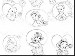 Extraordinary All Disney Princess Coloring Pages With Princesses And Rapunzel