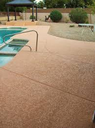 Seal Krete Floor Tex Home Depot by Stained Concrete Foundations Pool Deck Lace U2013 Micro Toppings