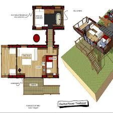104 Tree House Floor Plan Open Room In House Plumis