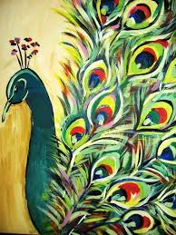 All Information About Peacock Art Canvas Pictures Of And Many More