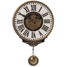 Vincenzo Bartolini Brass Clock