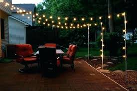 Led Outdoor Light Strings Bistro String Outdoor Lights