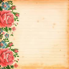 Free Vintage Floral Digital Scrapbooking Paper By FPTFY 5