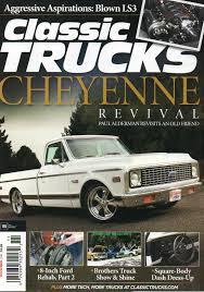 100 Brothers Classic Trucks 2016 Magazine 1972 CHEVROLET CHEYENNE REVIVAL