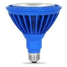 feit electric 16 watt par38 medium base e 26 blue indoor led