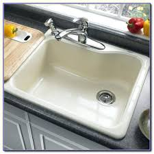 Americast Farmhouse Kitchen Sink by American Standard Silhouette Americast Kitchen Sink Double Bowl