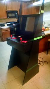 Build Arcade Cabinet With Pc by I Built A Mame Arcade Cabinet For My Dad Out Of An Old Pc And 1