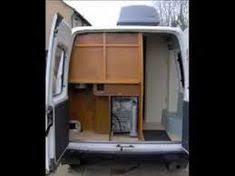 Back Storage DIY Self Build Camper Van Conversion Project