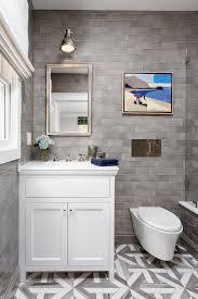 bathroom reno with grey subway tile home bunch interior design ideas