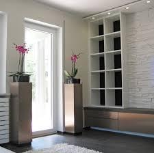 wohnzimmer mit steinwand 2 klassisch modern münchen