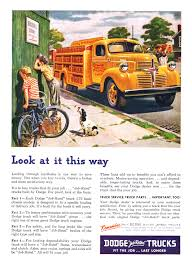Dodge Trucks Ad (August, 1947): Look At It This Way | Vintage Trucks ... 1952 Dodge B3 Pickup Original Flathead Six Four Speed Youtube 40s Dodge Truck Rat Rod Hot Rods Pinterest 1945dodgepickupcustompaint Car For Sale 1945 Truck 3 Tons 1949 With A Cummins 6bt Diesel Engine Swap Depot Halfton Classic Photos Jobrated Trucks Advertising Campaign 51947 Fit The Wc Series Wikipedia How Ford Made America Fall In Love Pickup Trucks 2019 20 Top Upcoming Cars