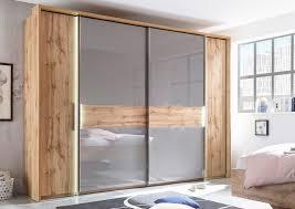 2 trg schiebetürenschrank kleiderschrank schlafzimmer komplett komplettset schrank wildeich basaltgrau