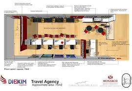 Design Concept Proposal For The New Look Of Diexim Travel Agencies In Angola