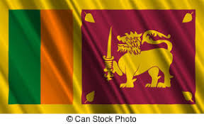 Sri Lanka Flag Stock Illustrationby
