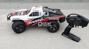 100 Rc Truck For Sale Rc Cars Traxxas Slash 4x4 For Sale Qatar Living