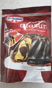 dr oetker kuchen glasur dunkel 125g 125 g