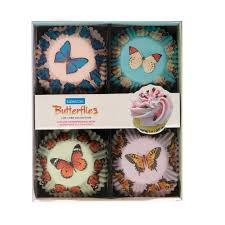 BUTTERFLY CUPCAKE CASES 100 791066