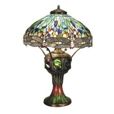 Jc Penneys Floor Lamps by Dale Tiffany Dragonfly Floor Lamp With Table Thelt Co And 7 Lamps
