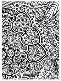 Christmas Coloring Pages For Adults Pinterest Heart Pictures To Color Adult Realistic Do Online