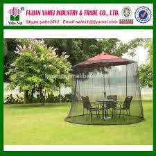 Patio Umbrella With Netting by Patio Umbrella With Netting Patio Outdoor Decoration