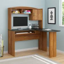 Ameriwood L Shaped Desk With Hutch by L Shaped Desk With Shelves Closet Ideas
