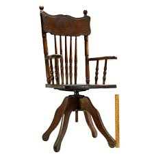 Antique CHILD-SIZE WOOD SWIVEL CHAIR Carved Dog BANISTER-SPINDLE BACK Oak  C.19th Vintage Used Antique Rocking Chairs For Sale Chairish Learn To Identify Fniture Chair Styles 1890s Amish With Cane Back And Upholstered Seat Fding The Value Of A Murphy Thriftyfun Stickley Arts Crafts Mission Style Oak Rocker Murphys Rocking Chairgrandparents Had One I Casual Ding Brown Cushion Wood Metal Rolling Caster Serta Upholstery Monaco Wing Rotmans Hay Llrocking Chairnordic Style Design Chair How Replace Leather In An Everyday Solid Oak Carver Ding Room Hall Bedroom Vintage With Arms Carryduff Belfast Gumtree