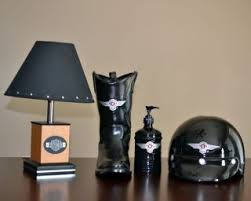 Harley Davidson Decorating Items