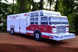 100 Model Fire Trucks Blog Papercruisercom
