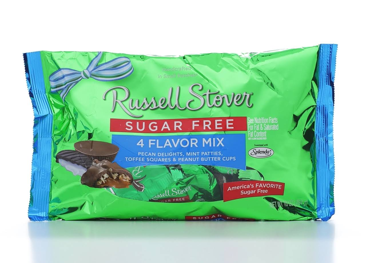 Russell Stover Sugar-Free Candies - 4 Flavor Mix, 10oz, 2pk
