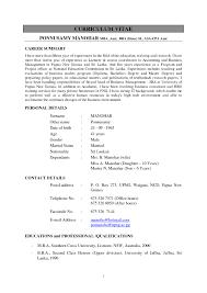 Sample Resume Assistant Professor Of Computer Science Best Lecturer Format