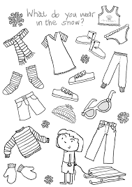 Free Printable Coloring Pages Clothing New Clothes