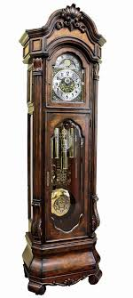 This Custom Built Grandfather Clock Offers All Of The Features On Most Expensive Clocks In Lodge FurnitureAntique