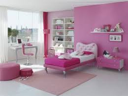 terrific pink bedroom design and decoration using light pink