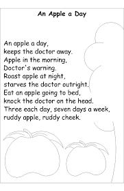 Poems About Halloween For Kindergarten by Mrs Bonzer U0027s Poetry Folders Apple Rhyming For Kids Pinterest