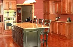 Cherry Cabinets With Dark Wood Floors Light Kitchen Design