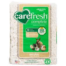 carefresh carefresh complete small animal bedding with odor stop