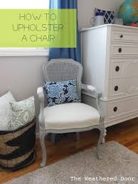 How To: Upholstering A [french] Chair - The Weathered Door Armchair How Much Does It Cost To Reupholster Chair Uplsterhow Chairs Acceptable Upholstered Wingback For Your Ding A Room To Reupholster A Chair Craft An Arm Hgtv Reupholstering French Part 5 Upholstering The How To Reupholster The Arm And Back Of Chair Alo Upholstery Diy Armchairs In Red And Chevron Modest Maven Vintage Blossom Alo Youtube An