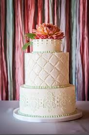 This Gorgeous Cake By Sugarhouse Added Delicate Detail And Showed Beautiful Craftsmanship The White
