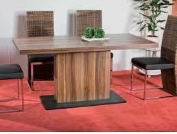 esszimmermöbel tisch esstisch 85x160 nussbaum gauvain