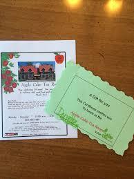 Apple Cake Tea Room $25 Gift Certificate – sarahbethmaddox