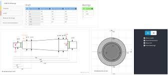free online shaft calculator cloud structural software