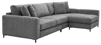 casa padrino wohnzimmer sofa grau schwarz 284 x 172 x h 76 cm luxus ecksofa