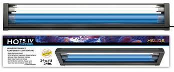 ho t5 dual aquarium light fixture 2x ho t5 ls 11000k day