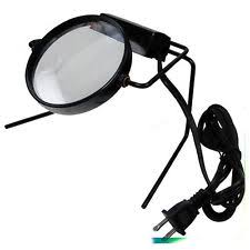 lighted magnifier stand ebay