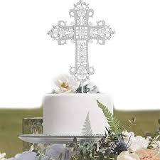 kreuz kuchen topper taufe taufe hochzeit bestätigung erste 1st kommunion baby engagement ostern kirche dekoration favor