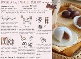recette de cuisine en recette de mochi à la crème de marrons cuisine du monde