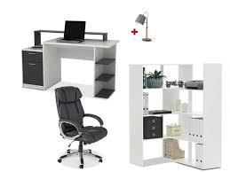 vente unique bureau pack bureau 4 produits pour meubler votre bureau