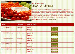 Halloween Potluck Sign In Sheet by 50 Yummy Snack Ideas